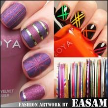 New Nail Art self-adhesive nail art stripping tape,nail stripping tape roll