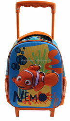 2015 New Arrival 3D School Trolley Backpack