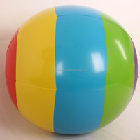 pvc inflatable beach ball toy