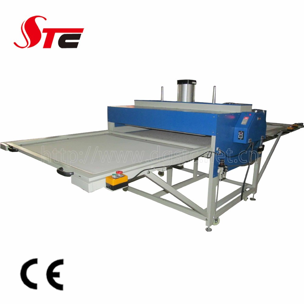 Automatic pneumatic two working position heat press for Thermal transfer printing equipment for t shirt