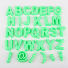 Wholesale 32pcs/Set alphabet letters Mold Magic Sand Model Play Toys Magic Modeling Clay Toys Smart Sand Model
