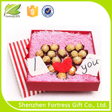 Chocolate gift paper packaging box