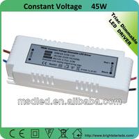12v led light driver ,45w 24v led light power supply,45w led light transformer made in china