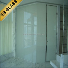 smart glass office partitions ,laminated smartglass internet control/ knob switch control EB GLASS BRAND