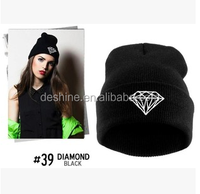 New Unisex Men Women Hip-Hop Warm Winter Knit Ski Beanie Hat