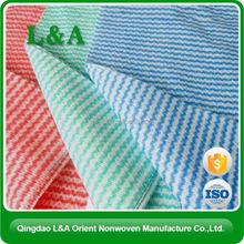 Spunlace Nonwoven Fabric Embossed Felt Flush Easily