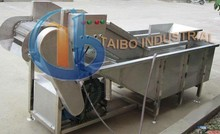 Water bubble vegetable and fruit washer /ozone cleaning machine for vegetables
