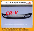 Para CRV 4*4 accesorios de automóviles parachoques delantero y trasero 2012