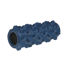 EVA 45CM Floating Point Yoga Foam Roller with massage dot/Extra high density Pilate foam roller/Yoga accessory for GYM