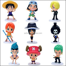 custom one piece action figure, mini figure toys manufacturer, customized plastic action figure toys in china