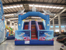 cheap inflatable water slide indoor playground equipment slip slide for adult