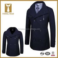 2016 Hot 100% Wool Slim Fit Mens Designer Coat Suits