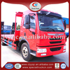 FAW 10ton low flatbed truck flat-bed trailer 4x2 auto transport trailer