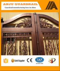 Alibaba trade assurance Main gate design home made in china AJLY-607