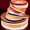 flexible plastic edge trim banding in pvc for furniture kitchen cabinet