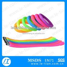 LT-Y869 Bulk Multicolor Soft Wrist Pen,Silicone bracelet pen with Touch