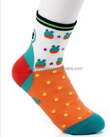 3D frog pattern thick child girl lovely socks