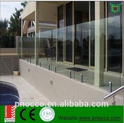 Aluminum Glass fense for Australian market