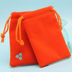 Mini personalized jewelry sacks with logo