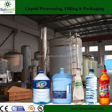 High Speed Drinking Water Washing Filling Capping Line
