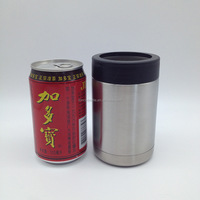 16oz Stainless Steel Beverage Can Insulator,Insulated Stainless Steel 12 oz Can Cooler, Double Wall Wine Cooler