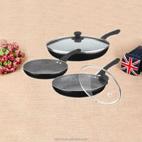 wholesale china goods non-stick enamel cookware sets