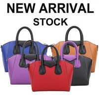 GL563 spanish leather goods famous classical leather handbags manufacturer