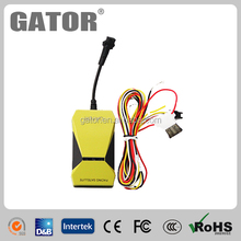Vehicle /car /motor gps tracking device long battery life with sos button and Tele-cut off M588T
