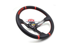 13 inch PVC artificial leather MOMO Drifting steering wheel