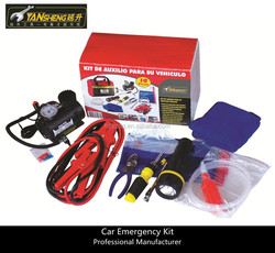 16pcs Roadside Car Emergency Tools Kit
