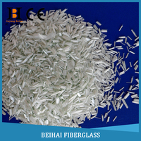 Fast wet-out resins glass fiber reinforced concrete
