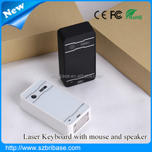 Factory price portable infrared laser keyboard. Magic Cube Wireless Virtual Laser Keyboard for Iphone 6