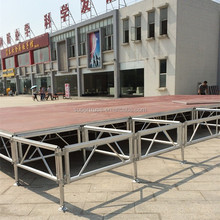 4*8ft/4*4ft aluminum portable modular stage