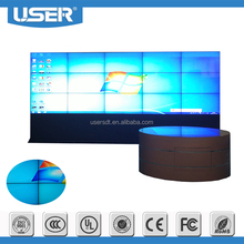 Ulter-narrow bezel Big size 82 Inch Lcd Video Wall for conference , metro station or shopping mall
