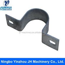 Metal U type pipe clip