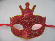 2016 New Products Red Masquerade Party Eye Mask Xmas Decoration Mask