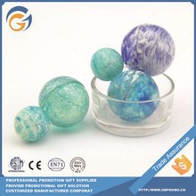Blue Color Giant 35mm Plastic Rubber Ball