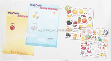 Magnetic Activity Wall Chart with playing card
