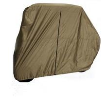 Rain Hail Protection 3 Wheel Drive Mini Electric Golf Club Car Cover for 2 Seater Cart