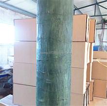 Home garden decoration 150cmx80cm artificial outdoor painting plastic fake palm tree barks ESP05 211