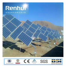 Ground Steel PV Solar Panel Mounting Structure,Gi Mounting Support | Iron Solar Support | Flat Roof Solar Mount