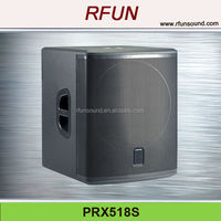 18 inch subwoofer speaker box