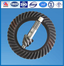 forging crown wheel and pinion gear for truck axle