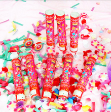 party decoration supplies custom confetti party popper factory price