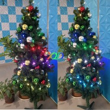 50pcs a string led pixel light decorat christmas tree very cheap ,own led simple controller power all leds 11usd Fitting light