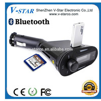 Hot selling Sucker type car FM transimitter/remote control car battery/portable transmitter radio/usb adapter for car radio