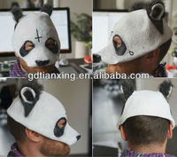 Newly Designed Popular Panda Latex Mask Cap Style Mask New Arrival