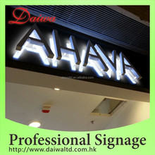 Beauty care Back-lit LED Stainless-Steel Letters Signs