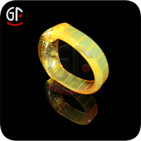 2015 Hot Products Party Favors Free Sample Customized Logo Sound Activated Silicone Glow In The Dark led Wristbands For Events