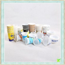 Delicated outlook paper cup and plastic cup for sale